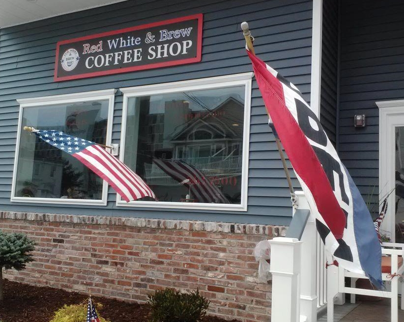 Red White and Brew Coffee Shop