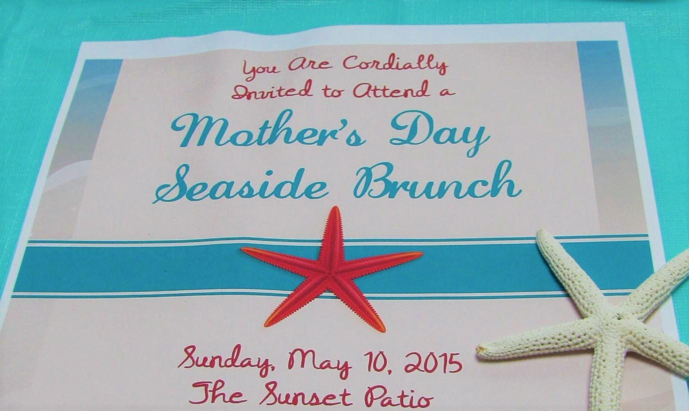 How to Host a Seaside Mother's Day Brunch