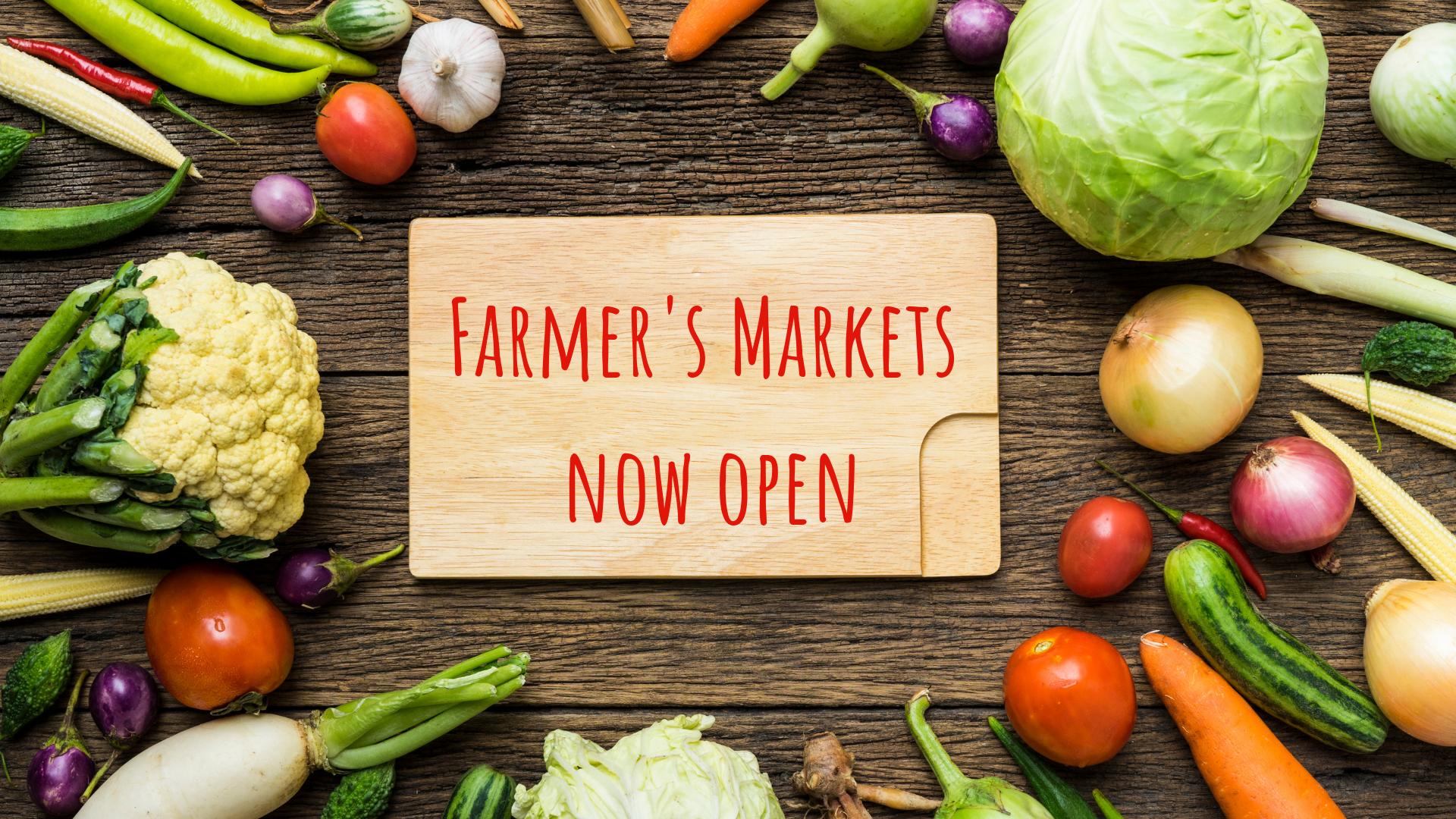 Seaside Farmers Markets