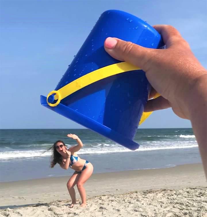How to Capture Hilarious Beach Photos