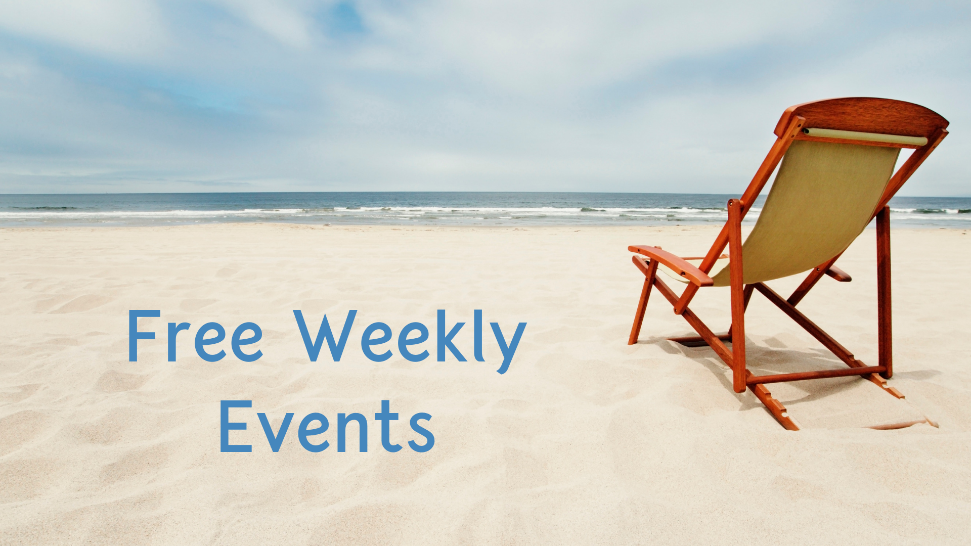 Free Weekly Events in Each Town