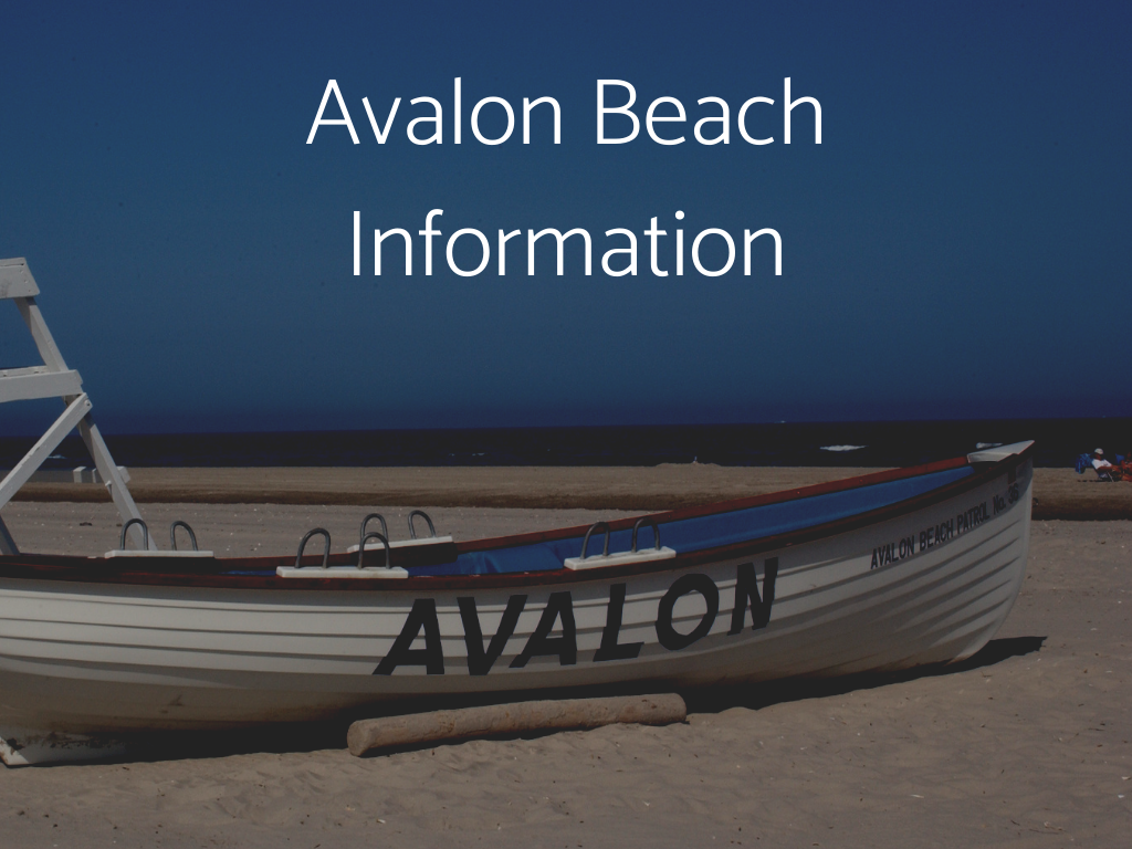 Visit South Jersey Beaches. Find Avalon Beach Information here, including information about Lifeguarded beaches in South Jersey