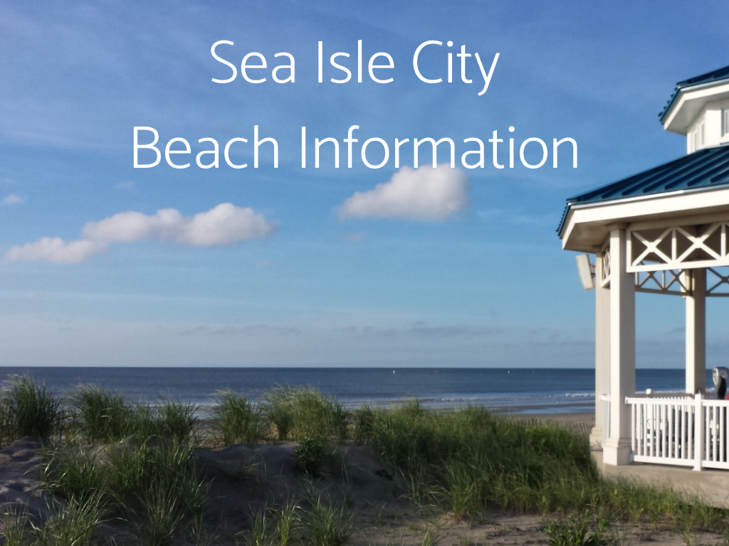 Visit South Jersey Beaches. Find Sea Isle City Beach Information here, including information about Lifeguarded beaches in South Jersey.