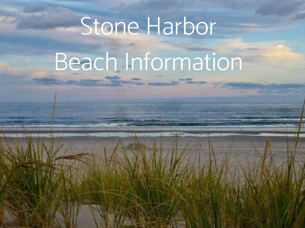 Find Stone Harbor Beach Information here, including information about Lifeguarded beaches in South Jersey.