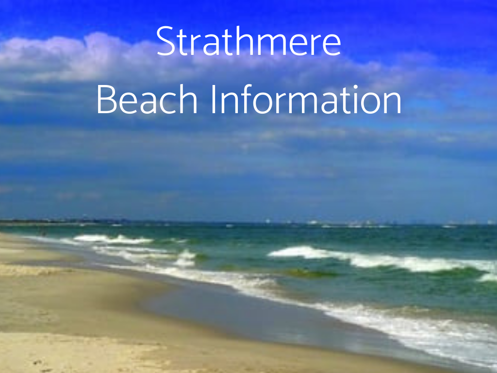 Visit South Jersey Beaches. Find Strathmere Beach Information here, including information about Lifeguarded beaches in South Jersey.
