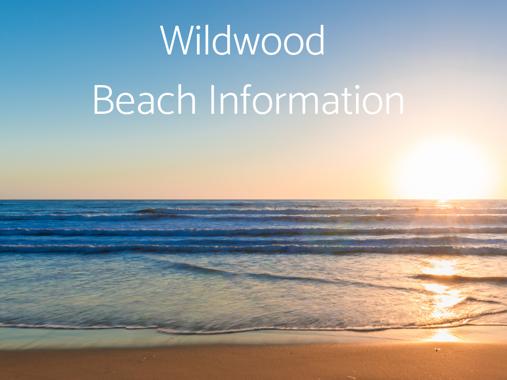 Find Wildwood Beach Information, North Wildwood Beach Information, and Wildwood Crest Beach Information here, including information about Lifeguarded beaches in South Jersey.