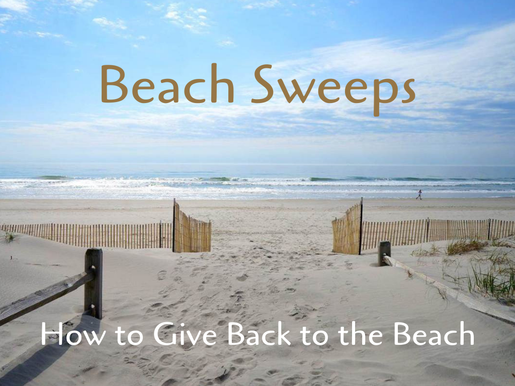 Protect the Beach with Beach Sweeps