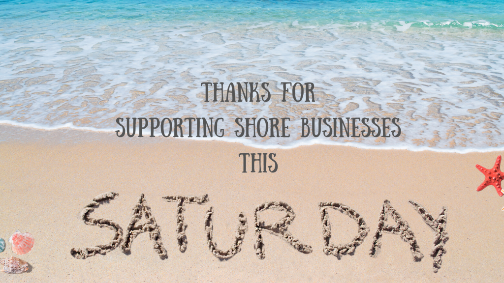 Shop local this Saturday