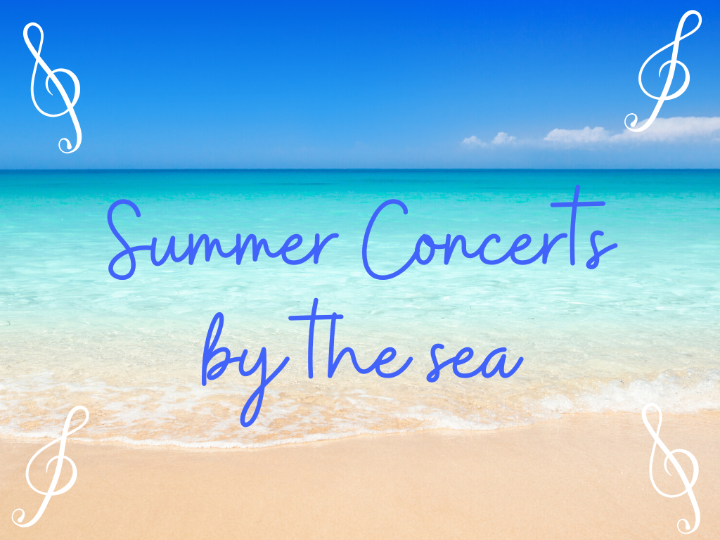 Things to do at the shore include free summer concerts by the sea.