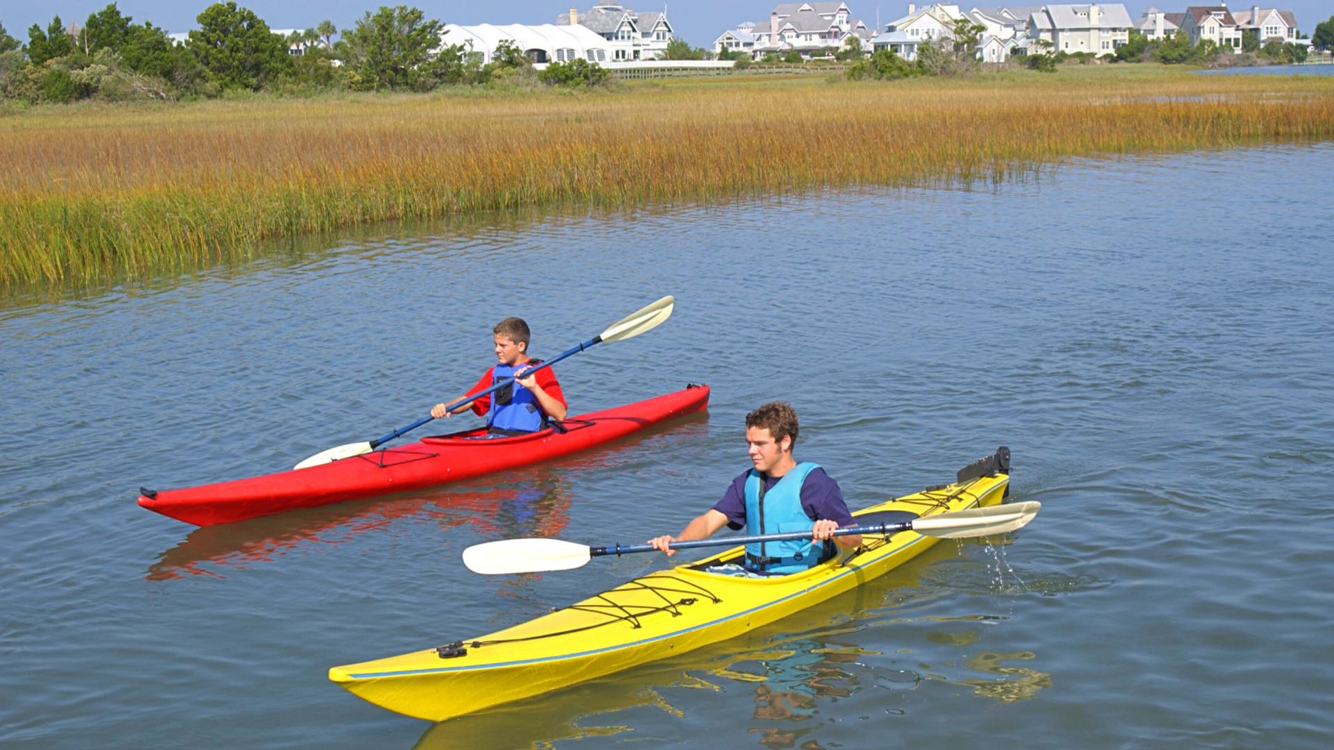 Kayak on the bay