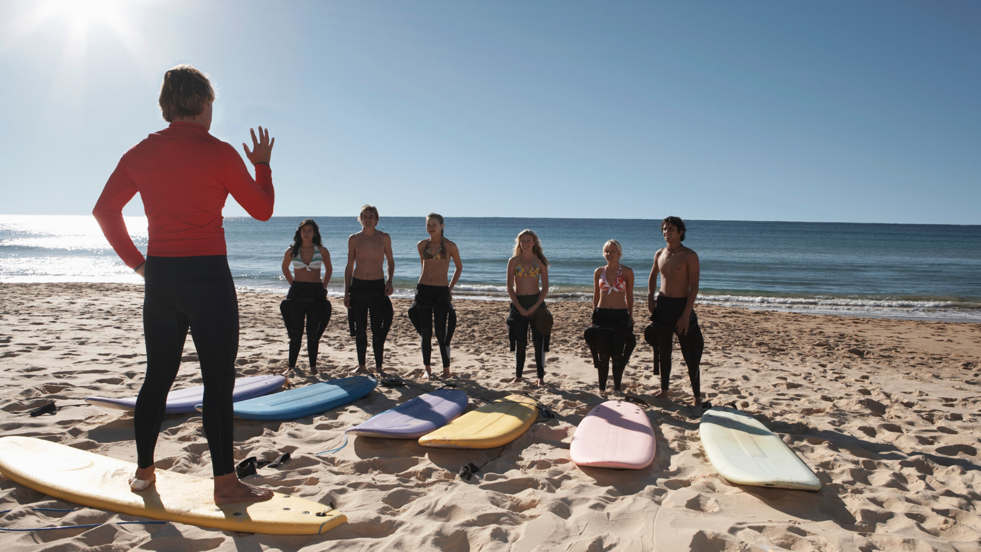 Learn to surf at the South Jersey shore