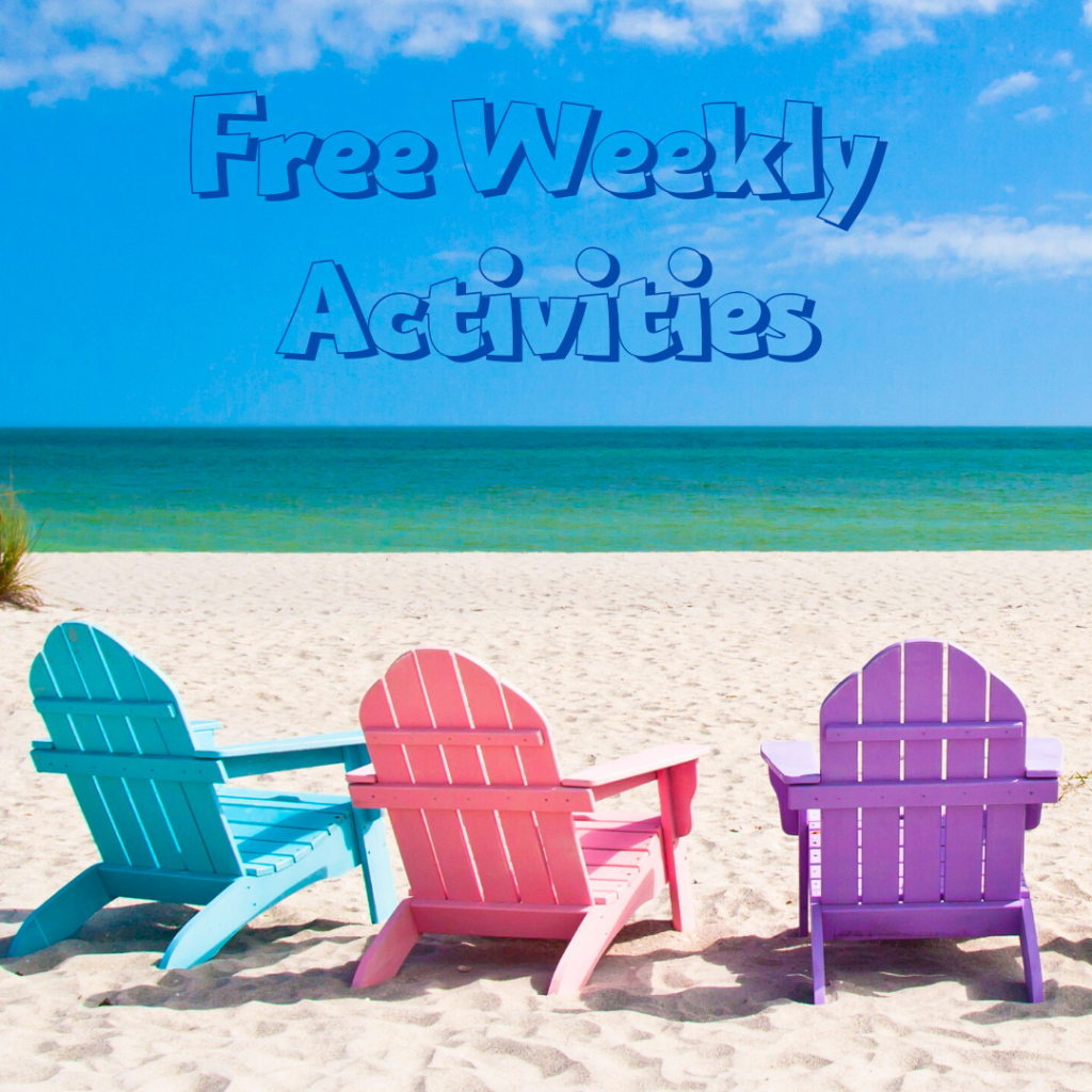 Things to Do - Free Weekly Activities