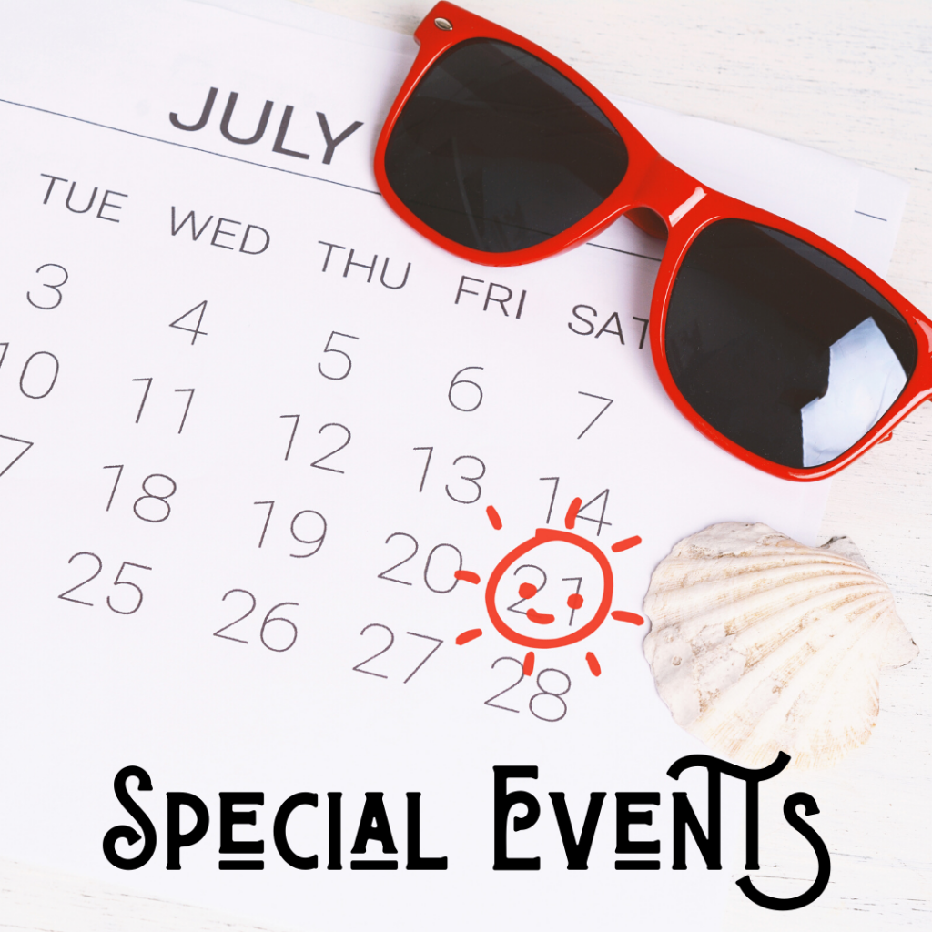 Things to Do - Special Events