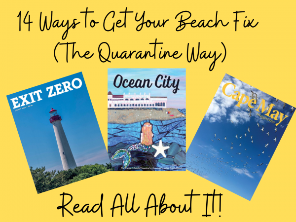 14 Ways to Get Your Beach Fix (The Quarantine Way) – #11 Read All About It!